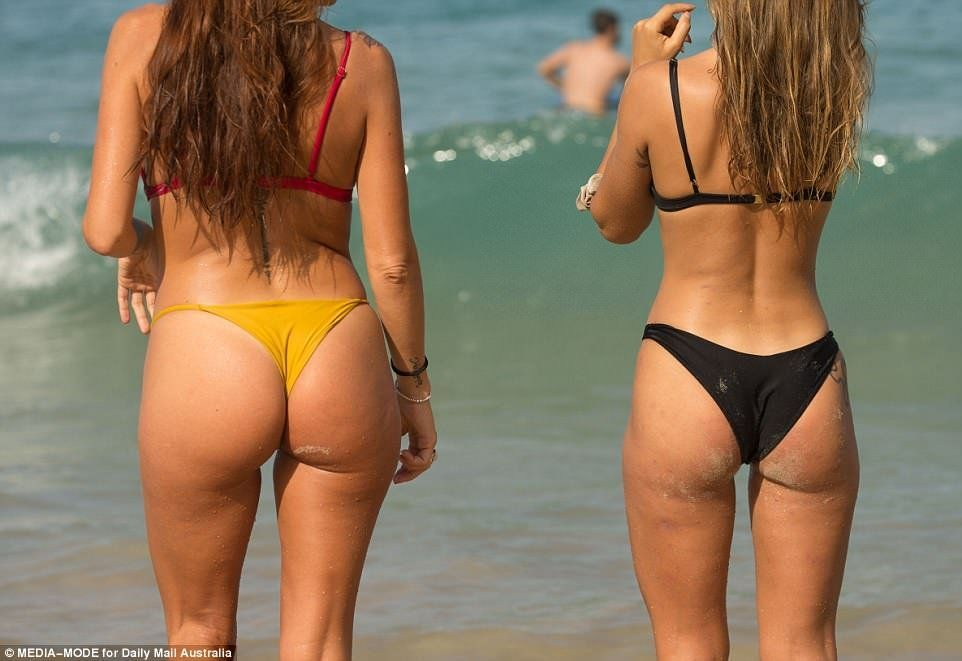 best of Ass string bikini Fat
