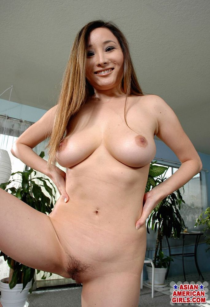 Asian american big tits