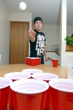 best of Boys beer pong Young