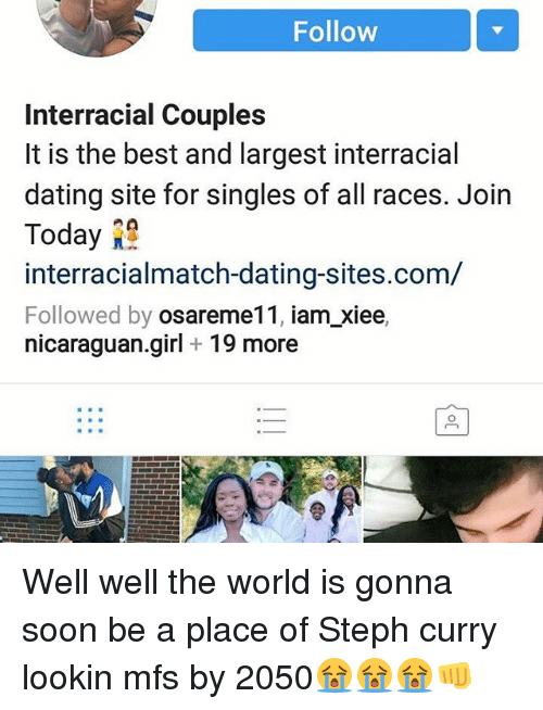 Largest interracial dating site
