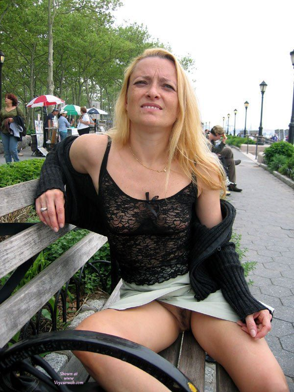 best of Flash Public upskirt pussy