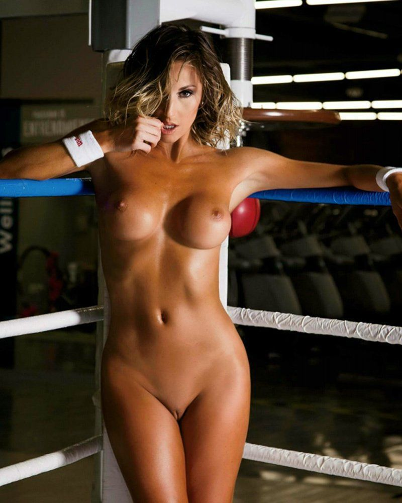 best of Boxing in ring Nude girls the