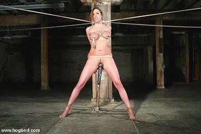 Bond girls bondage