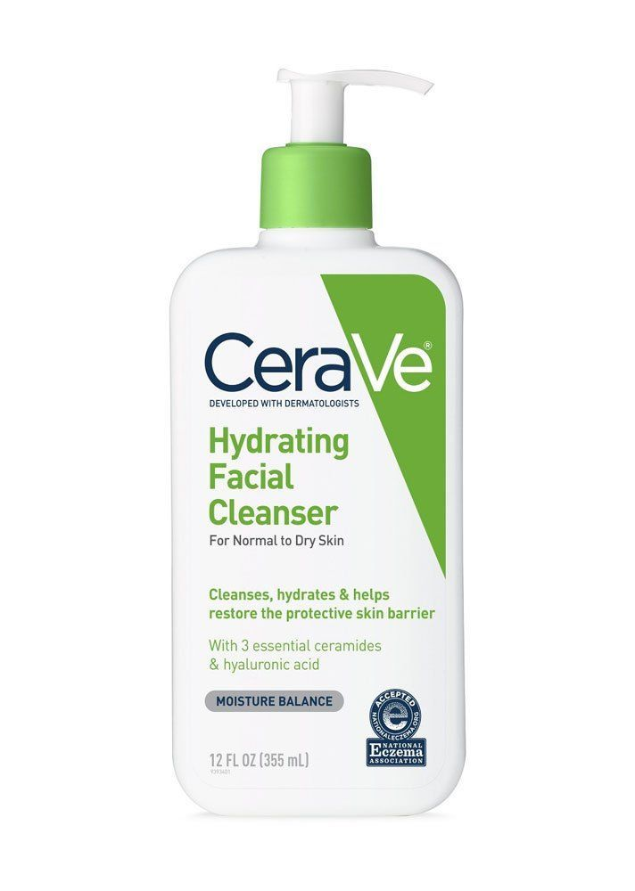 Dermatologist recommended facial cleansers and creams