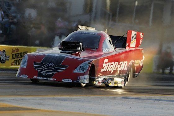 The S. reccomend Funny car standings