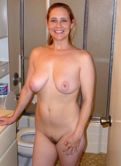 Nude Fotos mommy in shower nude