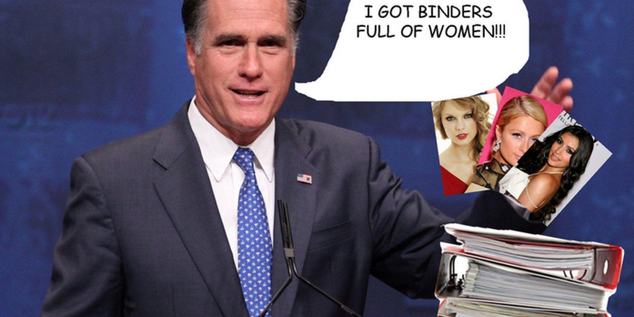 Thunder reccomend Romney binder jokes